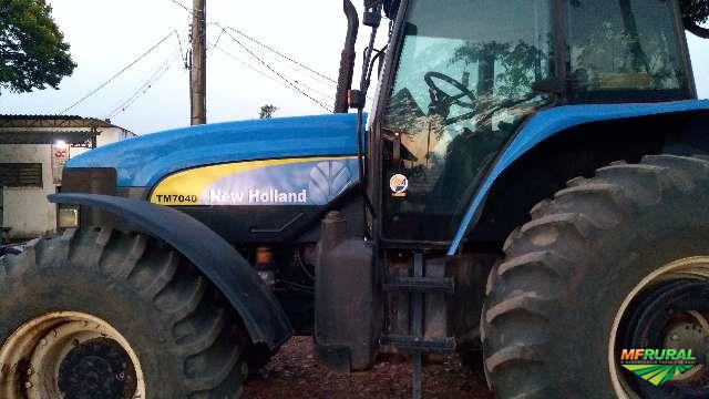 Trator New Holland TM 7040 4x4 ano 11