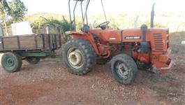 Trator Agrale 4300 4x2 ano 80