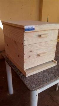 caixa para abelhas apis padrão langstroth