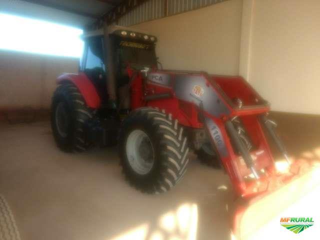 Trator Massey Ferguson 7150 4x4 ano 10