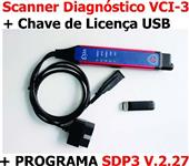 Interface Diagnóstico Scania VCI3 2017 Original + SDP3 + XCOM + Multi Atualizado com Notebook