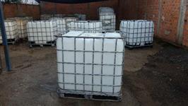 Compro embalagem plastica -container IBC 1000 lt