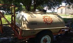 Pulverizador KO 2000 litros