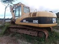 Escavadeira Hidraulica Caterpillar 320 ano 2004