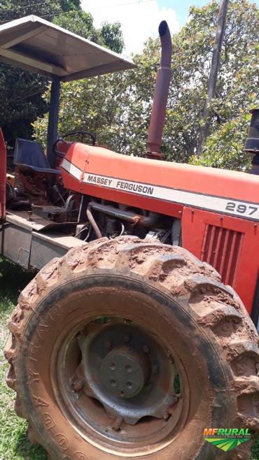 Trator Massey Ferguson 297 4x4 ano 94