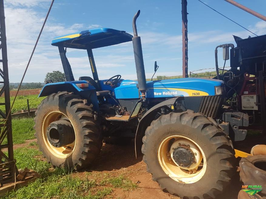 Trator New Holland 7630 4x4 ano 17