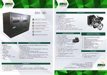 Gerador a Diesel 40 kVA