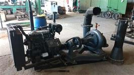 motor acoplado a bomba, motor perkins e bomba 200mm