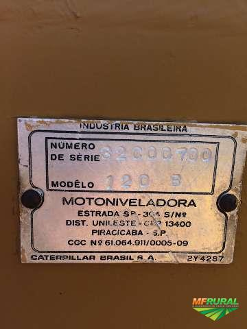 Motoniveladora Caterpillar 120b 1987