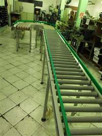 Esteira rolante industrial