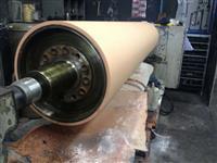 Revestimento de cilindros com borracha