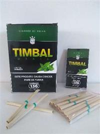 Cigarro de palha TIMBAL menta