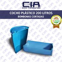 Cocho Plástico 100 Litros - Bombona