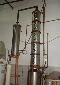 Destilador de cachaça de alambique