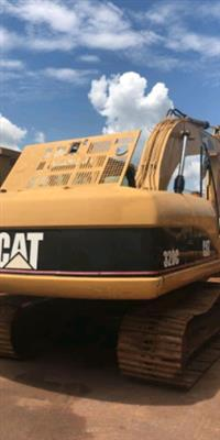 Peças da escavadeira hidráulica cat 320