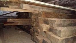 dormentes de madeira