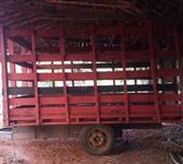 Carreta para transporte de gado