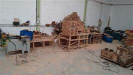 Fábrica de embalagem de madeira