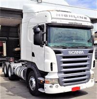 Outros Caminhão Scania R420 6x2 Highiline ano 10