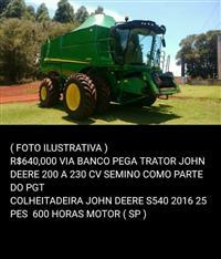 COLHEITADEIRA JOHN DEERE S 540