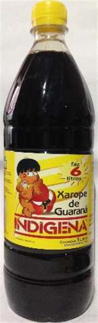 XAROPE CONCENTRADO DE GUARANA DE 1 E 5 LITROS.