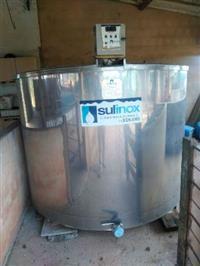 Tanque resfriamento de leite - Sulinox