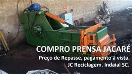 COMPRO PRENSA JACARÉ USADA
