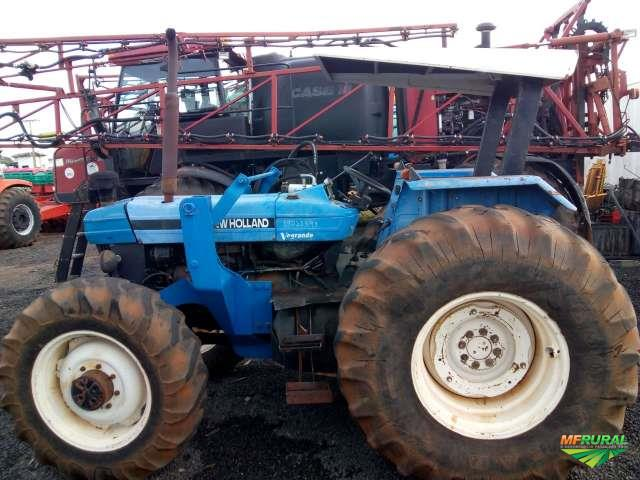 Trator New Holland 7630 4x2 ano 04