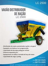Distribuidor de Ração LC 2000
