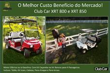 Veículo a Gasolina - Club Car - XRT 850 - Vermelho - Com Caçamba ou Assentos 4 Passag