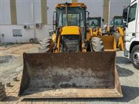 Retro escavadeira JCB 4x4