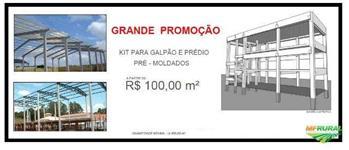 GALPÃO PRÉ MOLDADO