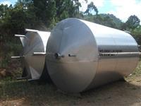 Tanque inox 20,000 litros novos inox 304