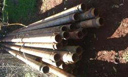 Barras de alumínio com engate