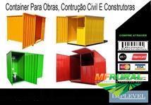 cacamba roll on off, estacionaria, container construcao civil, poliguindaste