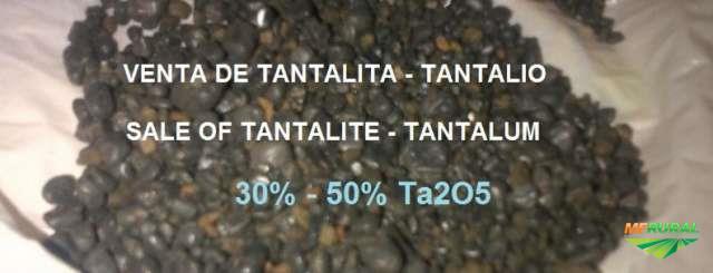 tantalita  com teor de 25--35 %