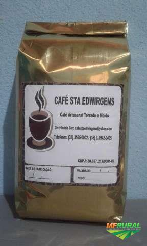 Café Torrado e Moído 100% Artesanal