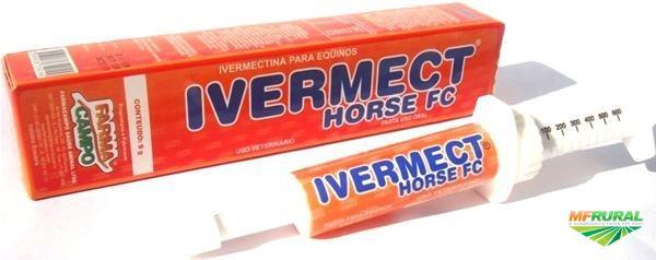 IVERMECT HORSE FC CONTROLE DE PARASITAS