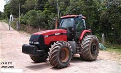 Trator Case MX 270 4x4 ano 06