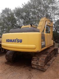 Escavadeira Komatsu 200
