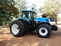 Trator New Holland T7.245 4x4 ano 17