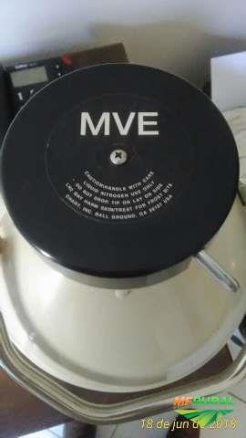 Botijão de sêmen MVE Transporte