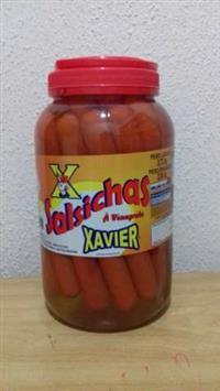 Salsicha Vinagrete Longa Xavier Pote 2kg