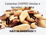 Castanha do Pará sem casca (inteiras e naturais) - Frete Grátis!