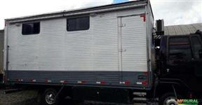 Furgão para o transporte de Equinos - Bau para cavalos + Home