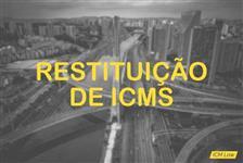 Restituição de ICMS