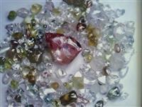 Mireradora de diamantes e ouro