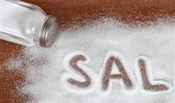 Sal refinado e grosso