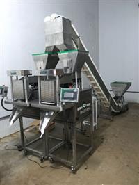 Dosadora Semi Automatica Com Alimentador E Seladora Continua