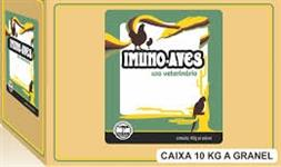 IMUNO-AVES - Indicado para tratamento curativo de infecções bacterianas de aves.